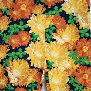 LuLaRoe Floral & 4-Leaf Clover🍀Leggings🍀TC NWT